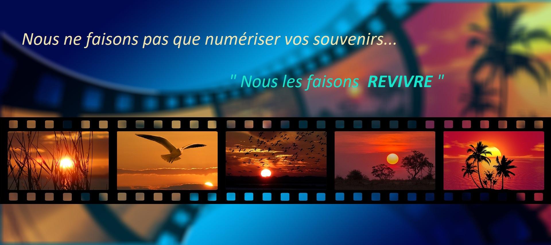 Numérisation Super 8, numérisation VHS